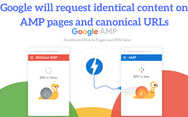 Google-will-request-identical-content-on-AMP-pages-and-canonical-URLs
