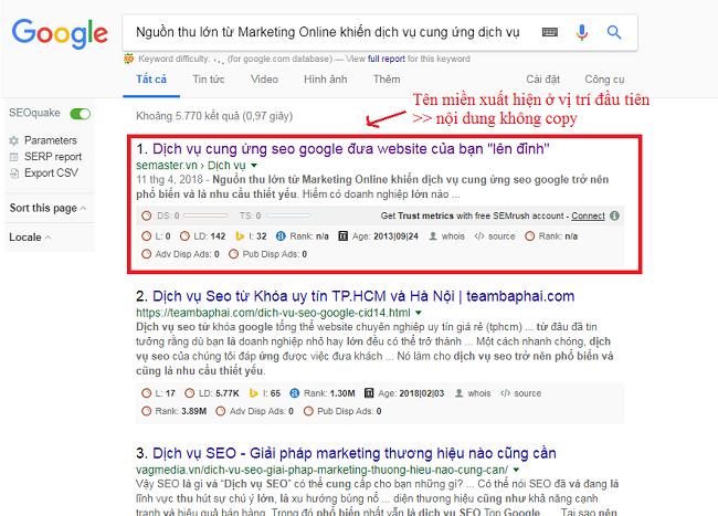 kiem tra noi dung website co copy khong