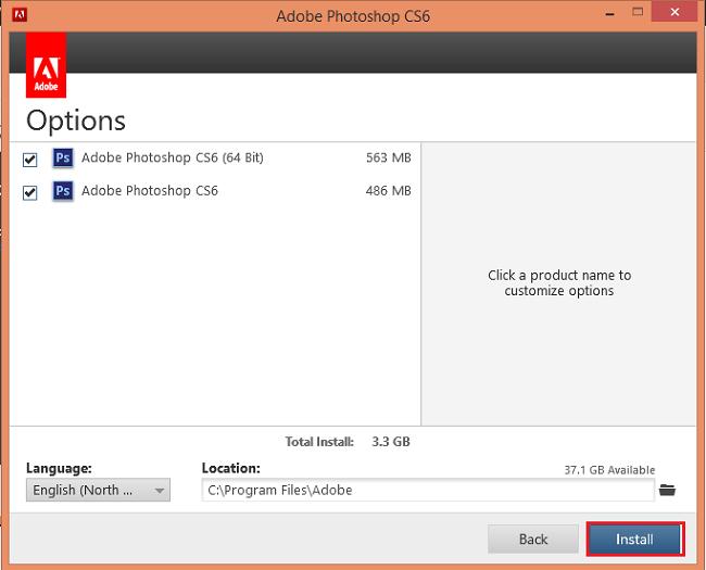 buoc 7 cai dat Adobe Photoshop CS6