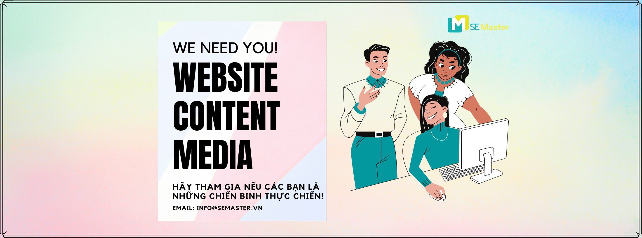 SE Master Solutions tuyen dung website media content